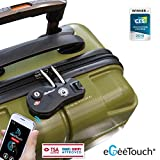 eGeeTouch GT3000 Smart Luggage Zipper Lock, Instantly Transformation