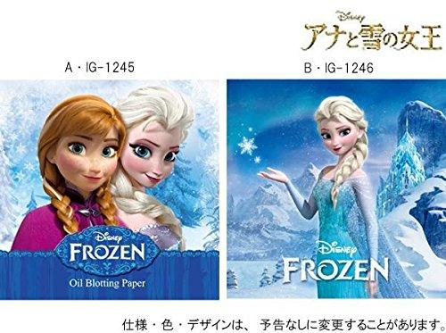 アカデミー賞受賞 ディズニー アナと雪の女王 あぶら取り紙 約9×9cm ×10セット B・IGー1246 0333078