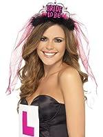 Smiffy's - 350974 - Bride To Be Tiara With Veil