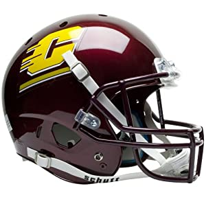 Buy Brand New Central Michigan Chippewas NCAA Replica Air XP Full Size Helmet by Things for You