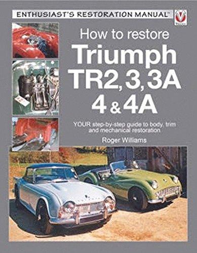 Triumph TR2, 3, 3A, 4 & 4A - Enthusiast's Restoration Manual (Enthusiast's Restoration Manual Series)