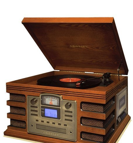 Crosley Director CD Recorder CR2406A - Paprika