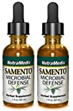 Samento Microbial Defense - NutraMedix - Liquid 1 Ounce (Pack of 2 Bottles)