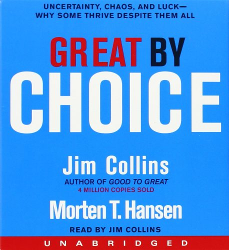 Jim Collins - Great by Choice CD