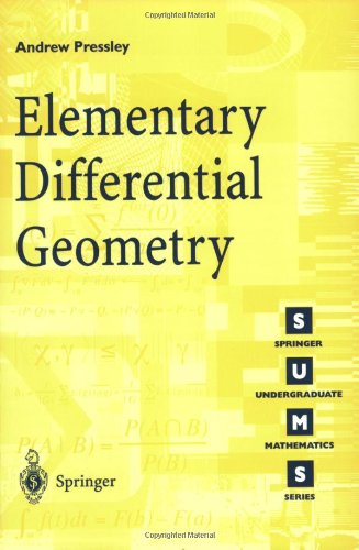 Libro Elementary Differential Geometry Di Andrew Pressley