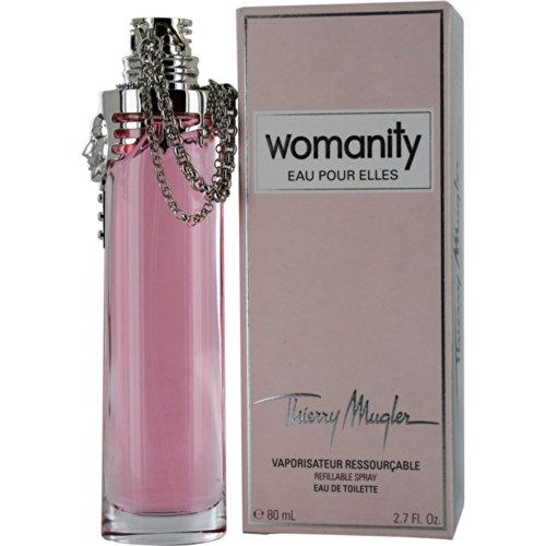Perfume Refill Kenya: Thierry Mugler Womanity Eau De Toilette Spray For Women, 2.7 Ounce