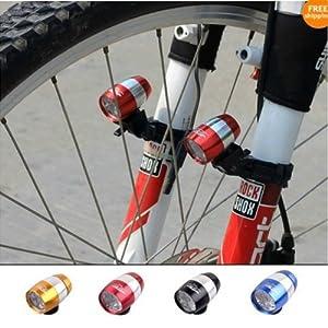 6 LED Fahrrad Frontlicht Leuchte Fahrradlicht mit Lampenclip