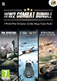 World War 2 Combat Bundle - 3 Strategy Games in One Mega Value Pack (Tank Operations, Storm over the Pacific, Strategic War in Europe) (PC CD)
