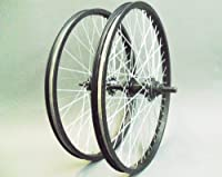 Micro Drive Bmx Wheels, 9t Driver Rear, Black Rims, Quando Hubs (pair) by QUATTRO SPORTS LTD