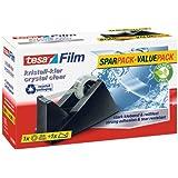 Tesa Tesafilm 57327-00003-00 Table Tape Dispenser up to 33 m: 19 mm Filled Black