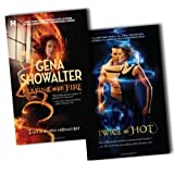 Gena Showalter Paranormal Romance 2 Books Collection Pack Set RRP: �15.98 (Twice as Hot, Playing with Fire)by Gena Showalter