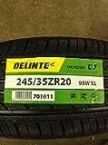DELINTE D7 A/S 4PLY BW - P245/35R20 95W