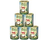 Bild: Dehner Best Nature Hundefutter Adult Rind und Reis mit Distelöl 6 x 400 g 24 kg
