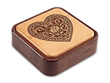 buy Heartwood Creations - Filigree Heart - Terra Photo Flip Top Box