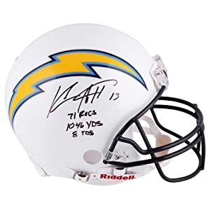 Keenan Allen San Diego Chargers Autographed Riddell Pro-Line Authentic Helmet with... by Sports Memorabilia