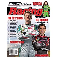 Dale Earnhardt, Jr. unsigned 2012 Athlon Sports NASCAR Racing Preview Magazine by Hall of Fame Memorabilia