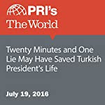 Twenty Minutes and One Lie May Have Saved Turkish President's Life | Daniel Ofman