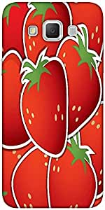Snoogg Strawberry Sticker Background Card In Vector Format Solid Snap On - Ba...