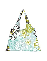 Snoogg High Strength Reusable Shopping Bag Fashion Style Grocery Tote Bag Jhola Bag - B01B97FK9I
