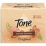 Tone Soap Bath Cream 2 Bars, Cocoa Butter
