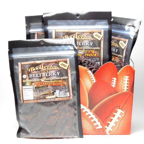 BootLegger's Assorted Best Beef Jerky Gift Box,