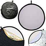 Neewer 110CM 43-Inch 5-in-1 Collapsible Multi-Disc Light Reflector ~ Neewer