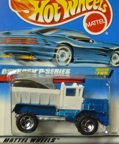 1997 Hotwheels Oshkosh P-Series Collector #765 by Mattel - 1
