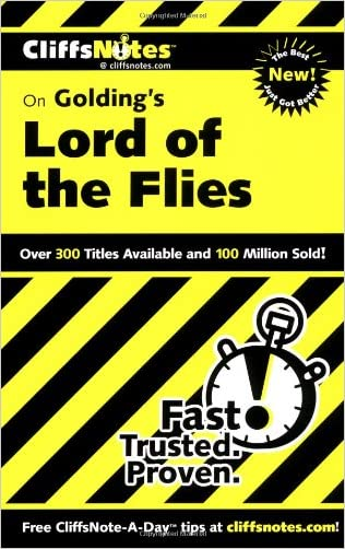 CliffsNotes on Golding's Lord of the Flies (Cliffsnotes Literature) written by Maureen Kelly