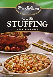 Mrs. Cubbison\'s Herb Seasoned CUBE Stuffing 10oz. (6 Boxes)