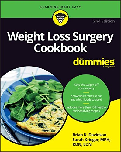 Weight Loss Surgery Cookbook For Dummies (For Dummies (Cooking)) by Brian K. Davidson, Sarah Krieger
