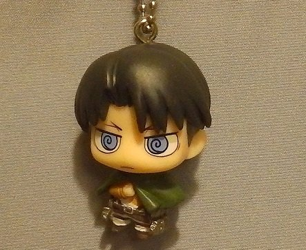 Attack on Titan Chibi Chara Mascot Part 3~Figure Swing Keychain~Levi Ackerman