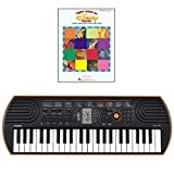 Casio SA-76 44 Key Mini Keyboard Bundle Includes Bonus 1st Book of Disney Solos Beginning Piano Solo Songbook