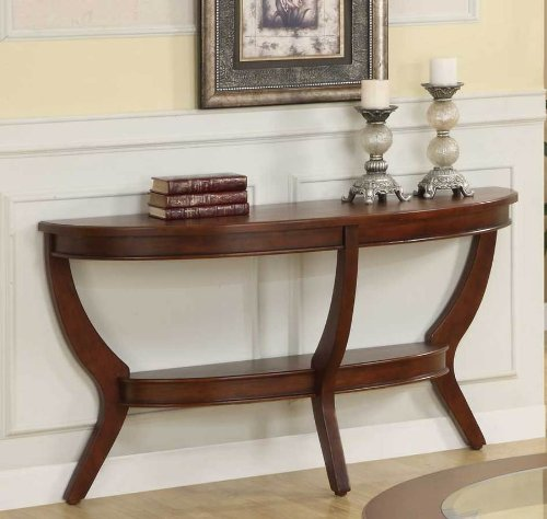 Avalon Sofa Table By Homelegance In Cherry front-631858