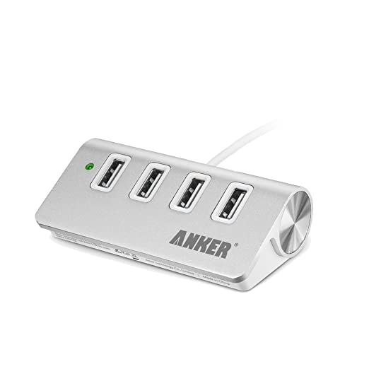 Anker® 30W 4-Port Aluminum USB Desktop Charger with PowerIQ Technology for iPhone, iPad, Samsung Galaxy S6 / S6 Edge, Nexus, HTC M9, Motorola, LG and More