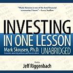 Investing in One Lesson   Mark Skousen