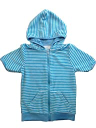 SwimZip Little Boy Swimsuit Cover-Up with UPF 50+ Blue 12-18 Month