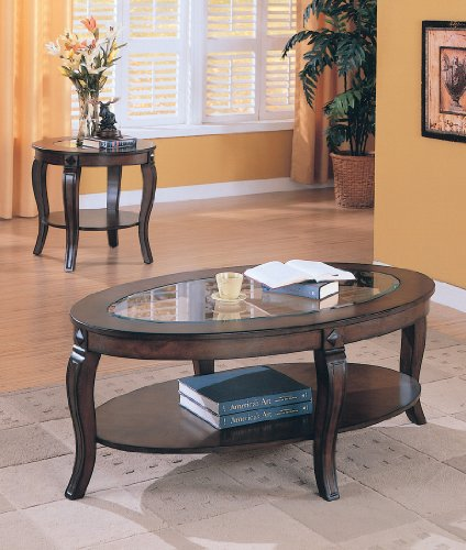 Image of END OCCASSIONAL TABLE SET RILEY 3 PIECE COLLECTION (B008W1C156)