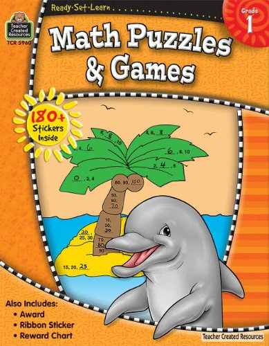 RSL: Math Puzzles & Games (Gr. 1)