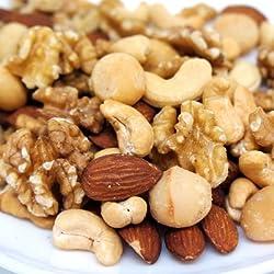 無塩・無油 最高級ミックスナッツ 4種類のナッツ 1kg入り