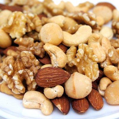 無塩・無油 ミックスナッツ 4種類のナッツ 1kg入り (チャック袋)