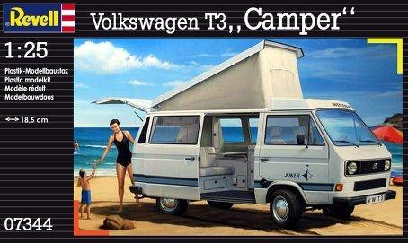 Revell 1:25 Volkswagen T3 Camper (Camper Model Kits compare prices)