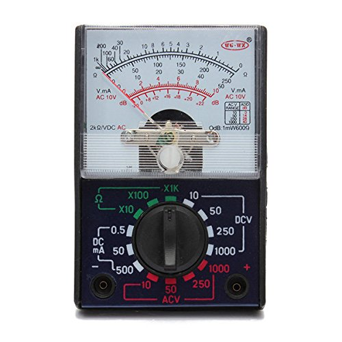 Doradus Mf-110a électrique AC / DC multimètre ohms voltmètre ampèremètre analogique
