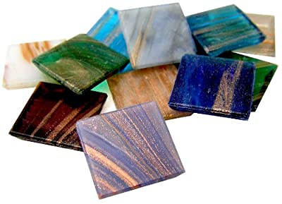 Mosaic Mercantile 3/4-Inch Metallic Assorted Tile from Mosaic Mercantile