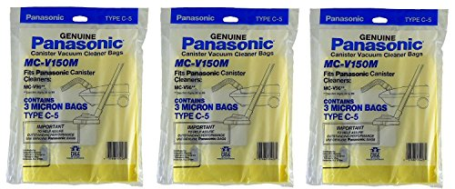 Cheapest Price! Panasonic MC-V150M Replacement Bag for Canister, 9-Pack