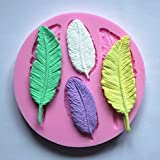 Ever garden leaf silicon mold handmade soap candle clay bath bomb Les Jin Siri