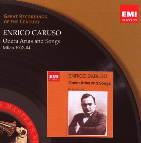 Enrico Caruso 1902-04 -  Opera Arias And Song - CD