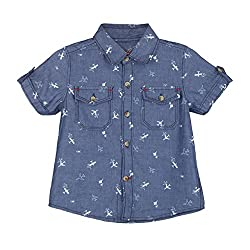 Chirpie Pie by Pantaloons Boy's Shirt_Size_12 - 18 Months