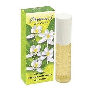 Perfumes of Hawaii - Hawaiian White Ginger Cologne Spray - 1.2oz.