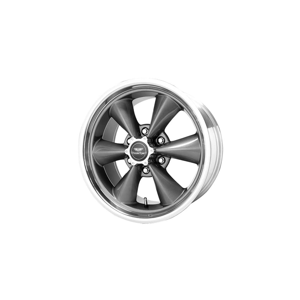 American Racing Torq Thrust ST AR104 Magnesium Gray Wheel with Machined Lip (20x8.5/6x135mm)