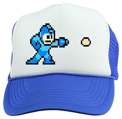 [Megaman Shooter Snapback Trucker Hat] (Megaman Hat)
